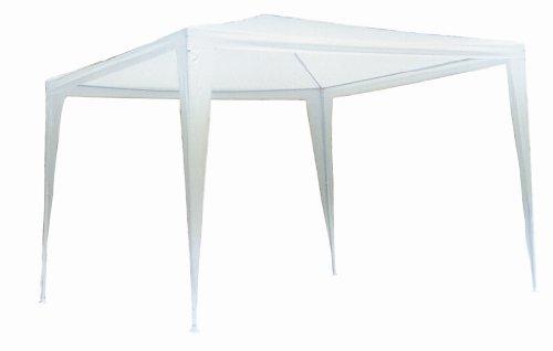 Gazebo tenda in metallo metri 3x3 telo impermeabile per campeggio fiera terrazzo pic nic - 1