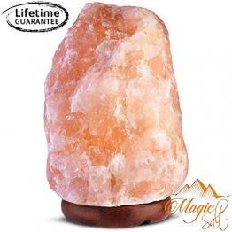GEOFOSSILS® Lampada di Sale dell Himalaya de 7-10kg migliore qualità - 1