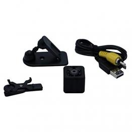 Gfone Telecamera per Mini Sport Portatile 1080P HD da Esterno Portatile Fotocamere digitali compatte e Set di Accessori - 1