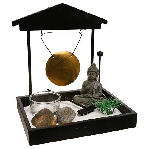 Giardino ZEN Buddha con gong. - 1