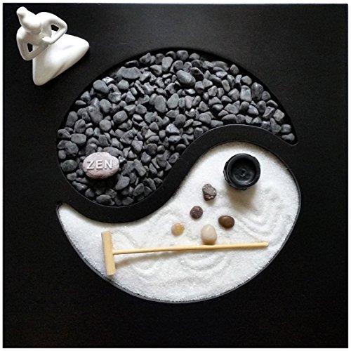 Giardino Zen Yin Yang 30x30x1 cm - 1