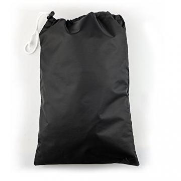 Gifort 70*75cm Copertura Barbecue, Impermeabile Telo Protettivo Per Barbecue Grill Campana Protezione (Nero) - 1