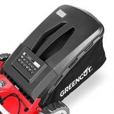 GREENCUT GLM690SX - Tagliaerba a Propulsione Automatica, Benzina, Rosso, 40 cm, 139 cc, 5 cv - 1