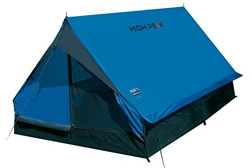 High Peak Minipack, Tenda Unisex-Adulto, Blu/Grigio, 190 x 120 x 95 cm - 1