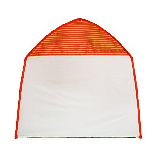 Homfu Tenda Casetta per Bambini e Bambine per Campeggio Esterno Tenda Giocattolo per Bambini con (White) - 1