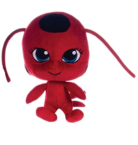 How To Train Your Dragon 2 Miraculous Ladybug Kwami Tikki Soft Plush Toy Red Stuffed Figure Doll 10 Inches - 1