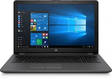 HP 255 G6, Notebook 15.6 pollici, APU AMD E2-9000e, RAM 4GB, HDD 500 GB, 1366x768, Senza sistema operativo, Nero [Italiano] [Italia] - 1