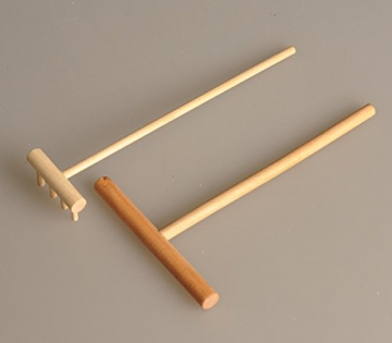 Il kit del mini giardino Zen di loto del marchio ICNBUYS regala il rastrello, lo strumento Pincha e il pennello di bamb¨´ - 2