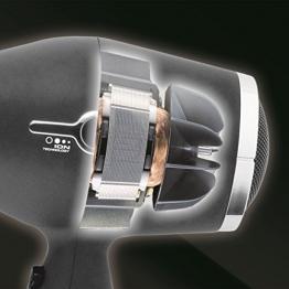 Imetec Salon Expert P4 2500 ION Asciugacapelli Professionale, Tecnologia a Ioni, Rivestimento Griglia in Ceramica e Tormalina, 8 Combinazioni Aria/Temperatura - 1
