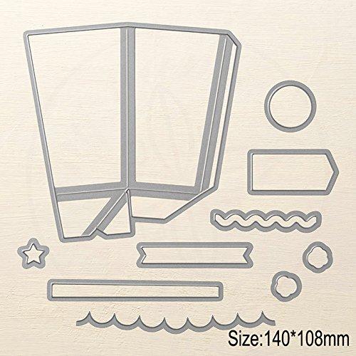 InLoveArts DIY carta fustelle in metallo, album per scrapbooking goffratura stencil per mano artigianale decorazione modello Home Life Series - 1