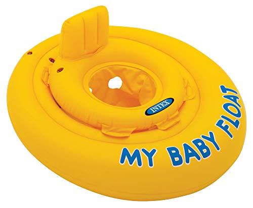 INTEX Baby Float Salvagente, Colore Giallo, 70x70x10 cm 56585 - 1