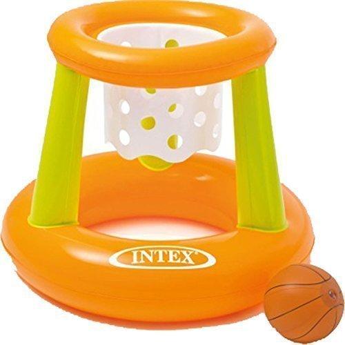 INTEX Kids Fun Mare e Piscina Gonfiabile Galleggiante Basket Hoop Game - 1