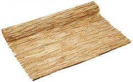 ITALFROM Arella in Bamboo Varie Misure Canniccio Arelle Canne per Recinzione Ombra Bambu (200x500 cm) - 1