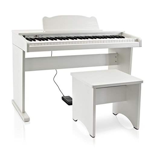 JDP-1 Pianoforte Digitale Junior Gear4music Bianco - 1