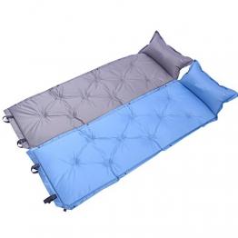Kereith self gonfiando dormendo mats - leggera aria notes compatto montato in campeggio materasso con cuscino veloce flusso valore all'aperto in campeggio trekking, zaino in spalla, viaggi - 1