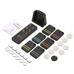 Key Finder, Esky Key Finders Wireless con 6ricevitori RF Item Locator, Articolo Tracker Support Remote Control, Pet Tracker, Portafoglio Tracker, buona Idea per Trovare Il Tuo Lost Items - 1