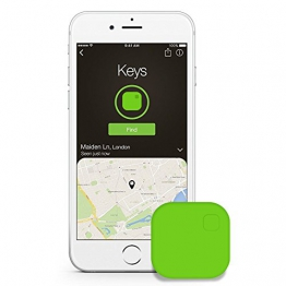 Key Finder, GOMAN Cercatore Chiave Wireless localizzatore chiavi Bluetooth Anti Lost Trova Tracker Bidirezionale Allarmante per IOS iPhone/Android - verde - 1