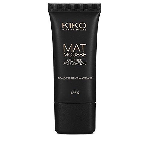 Kiko Milano Mat mousse fondotinta opacizzante con ingredienti attivi SPF 15 - 1
