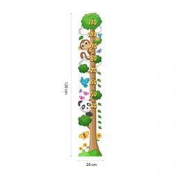 kina UVB00216 Misure 1 Fogli 20X120 cm - Decorazione Parete in PVC Trasparente Adesivi per Muro Metri Bambini - 1