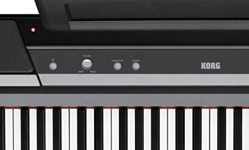 KORG SP-170S pianoforte digitale, 88 tasti, nero - 3
