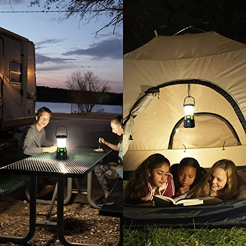 LE Lanterna LED, Ultra Luminosa 1200lumen 10W 4 Modalità, Modalità Fissa e Flash, Ricaricabile Cavo USB Compreso, Power Bank, Carica Smartphone per Emergenze Campeggio Gite Pesca Trekking - 1