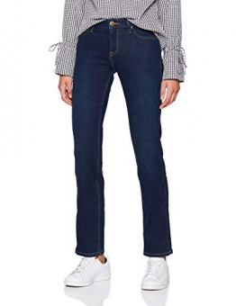 Lee Marion Straight Vq, Jeans Donna, Nero (Dark Used Vq), W33/L33 - 1