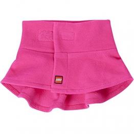Lego Wear 19399-Sciarpa Bambina Rosa (Pink 448) Small (Taglia Del Produttore: Small/Medium) - 1