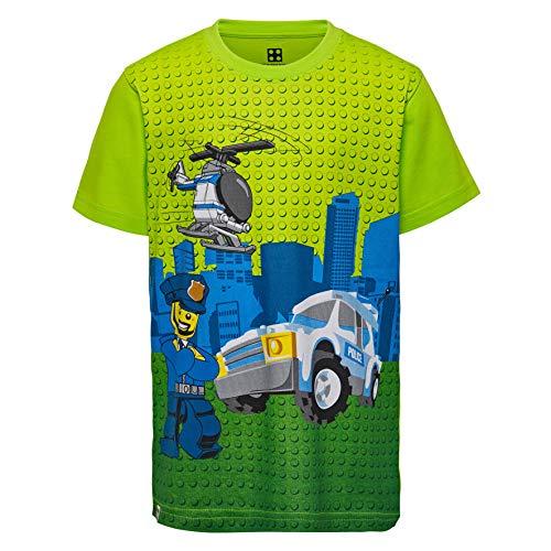 Lego Wear Boy Cm-50276 - T-Shirt, T-Shirt Bambino, Verde (Green 850), 128 - 1