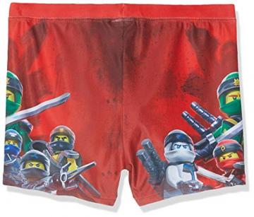 Lego Wear Boy Ninjago Cm-50201 - Badehose, Costume da Bagno Bambino, Rosso (Red 359), 122 - 2