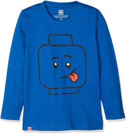 Lego Wear Lego Boy CM-73445, Maglietta a Maniche Lunghe Bambino, Blu (Blue 569), 104 - 1