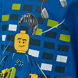 Lego Wear Lego Boy M-72669-Langarmshirt, Maglietta a Maniche Lunghe Bambino, Blu (Blue 541), 104 - 1