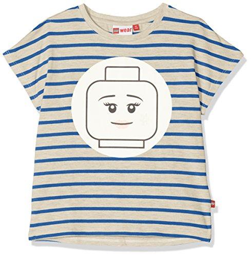 Lego Wear Lego Girl Tanya 307-T-SHIRT, T-Shirt Bambina, Blau (Blue 569), 128 - 1
