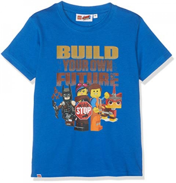 Lego Wear Lego Movie Batman & Co. Cm-50271-T-shirt, T-Shirt Bambino, Blu (Blue 563), 134 - 1