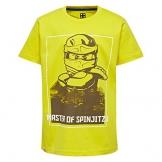 Lego Wear Lego Ninjago M-72501-T-SHIRT, T-Shirt Bambino, Gelb (Yellow 222) 140 - 1