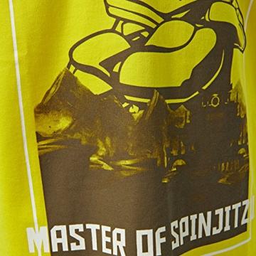 Lego Wear Lego Ninjago M-72501-T-SHIRT, T-Shirt Bambino, Gelb (Yellow 222) 140 - 3