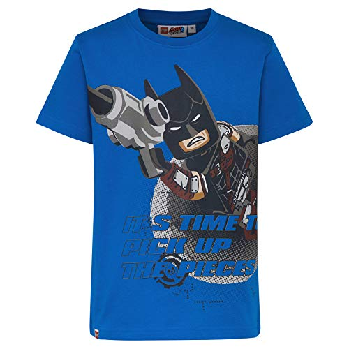 Lego Wear Movie Batman Cm-50277 - T-Shirt, T-Shirt Bambino, Blu (Blue 563), 122 - 1