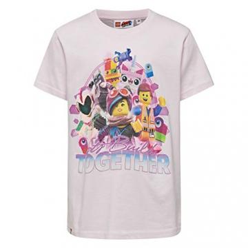 Lego Wear Movie Cm-50270 - T-Shirt, T-Shirt Bambino, Rosa (Rose 404), 146 - 1