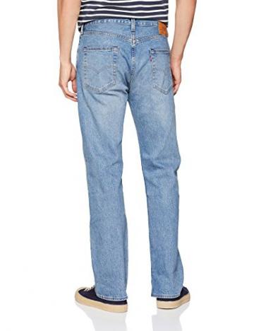 Levi's 501 Levis Original Fit, Jeans Straight Uomo, Blu (Baywater 2637), 34W / 36L - 2