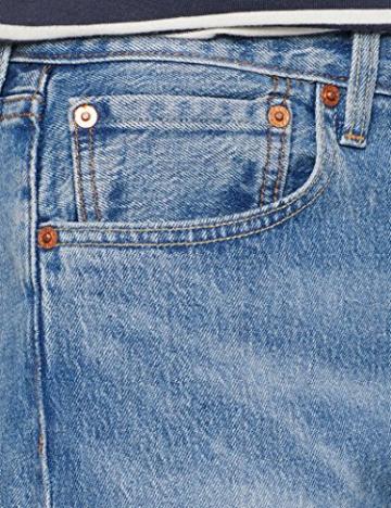 Levi's 501 Levis Original Fit, Jeans Straight Uomo, Blu (Baywater 2637), 34W / 36L - 3