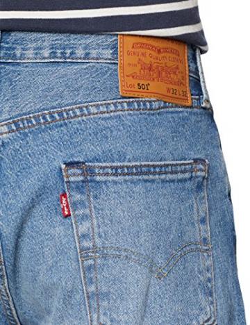 Levi's 501 Levis Original Fit, Jeans Straight Uomo, Blu (Baywater 2637), 34W / 36L - 4