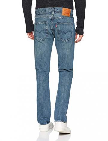Levi's 501 Levi's Original Fit Jeans Straight Uomo, Blu (Tissue 2776) W31/L32 (Taglia Produttore: 31 32) - 2
