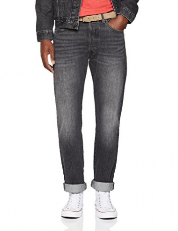 Levi's 501 Levis Original Fit, Jeans Straight Uomo, Grigio (MLK Warp 2649), 31W / 30L - 1
