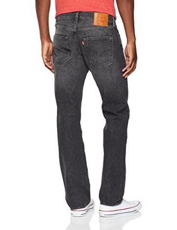 Levi's 501 Levis Original Fit, Jeans Straight Uomo, Grigio (MLK Warp 2649), 31W / 30L - 2