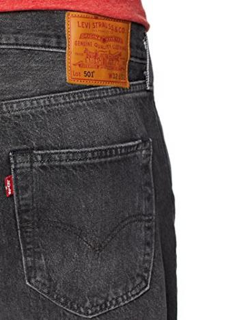 Levi's 501 Levis Original Fit, Jeans Straight Uomo, Grigio (MLK Warp 2649), 31W / 30L - 4