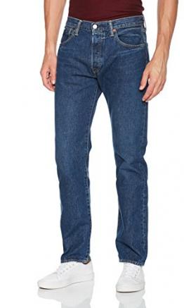 Levi's 501 Levi'soriginal Fit, Jeans Straight Uomo, Blu (Subway Station 2463), W34/L34 - 1