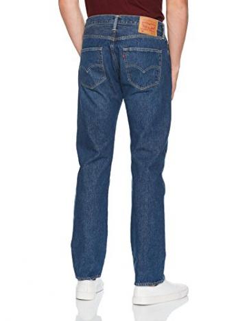 Levi's 501 Levi'soriginal Fit, Jeans Straight Uomo, Blu (Subway Station 2463), W34/L34 - 2