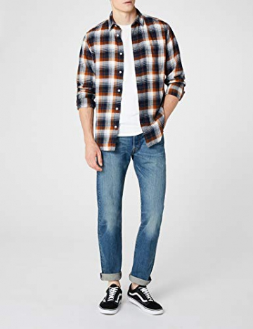 Levi'S 501 Original Straight Fit, Jeans Uomo, Blu (Hook 1307), W31/L30 - 2