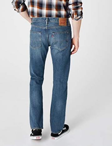 Levi'S 501 Original Straight Fit, Jeans Uomo, Blu (Hook 1307), W31/L30 - 4