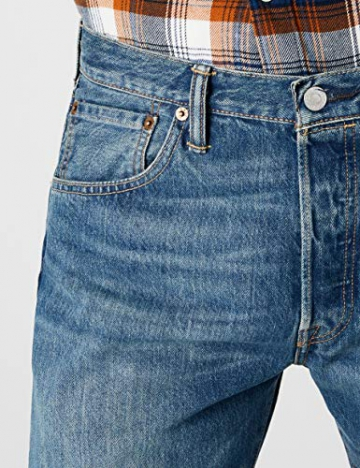 Levi'S 501 Original Straight Fit, Jeans Uomo, Blu (Hook 1307), W31/L30 - 5