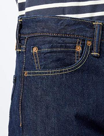 Levi's 501 Original Straight Fit, Jeans Uomo, Blu (Onewash 0101), W33/L30 - 3